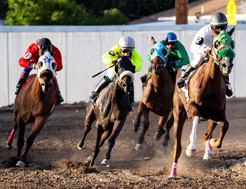 CENTRAL OREGONIAN - Horse races canceled due to pandemic.