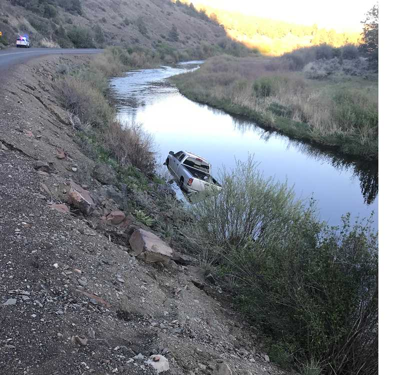 CROOK COUNTY SHERIFF'S OFFICE - Sidney Walter Hayes was driving eastbound when he lost control and went off an embankment.