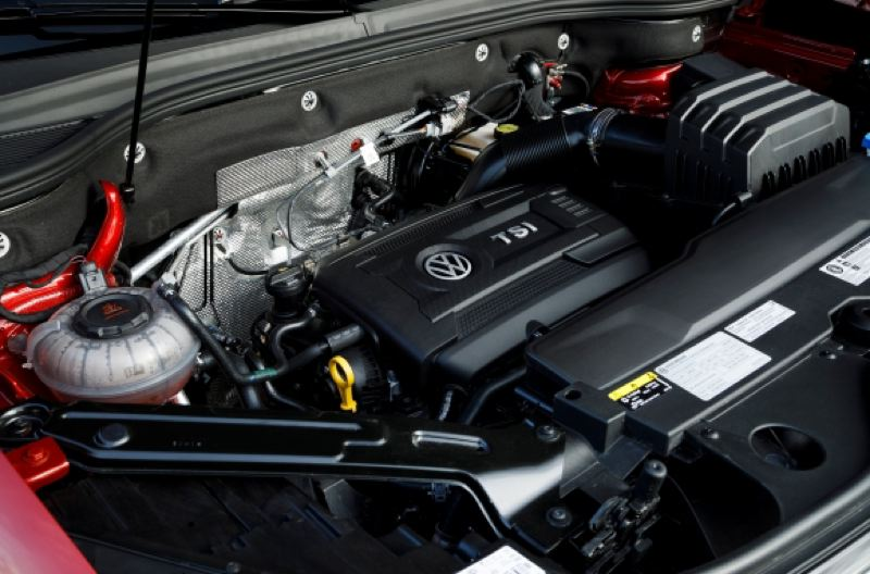 VOLKSWAGEN OF AMERICA - The base turbocharged 2.0-liter engine provide enough power for most owners, but a 3.6-liter V6 is also available.