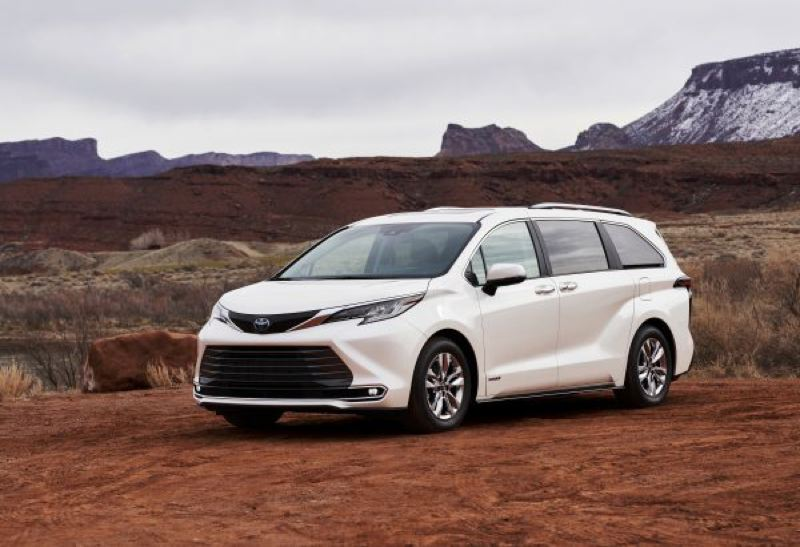 COURTESY TOYOTA - The fourth generation of Toyota's popular Sienna family van will a hybrid with optional all-wheel-drive.