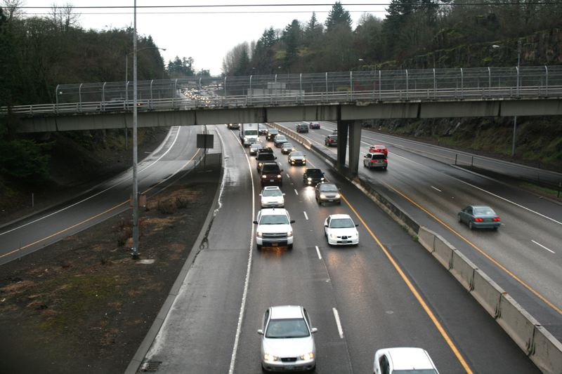 PMG FILE PHOTO - Tolling on I-205 was the main focus of discussion during the tolling project update at Lake Oswego's May 19 City Council meeting.