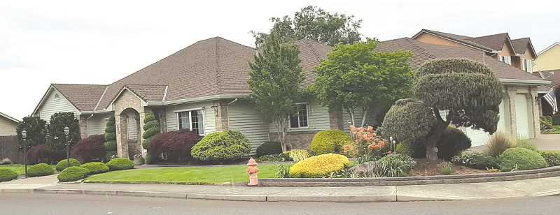 COURTESY PHOTO GAIL GOULD - The Fleming home on Lupine Street in Canby.