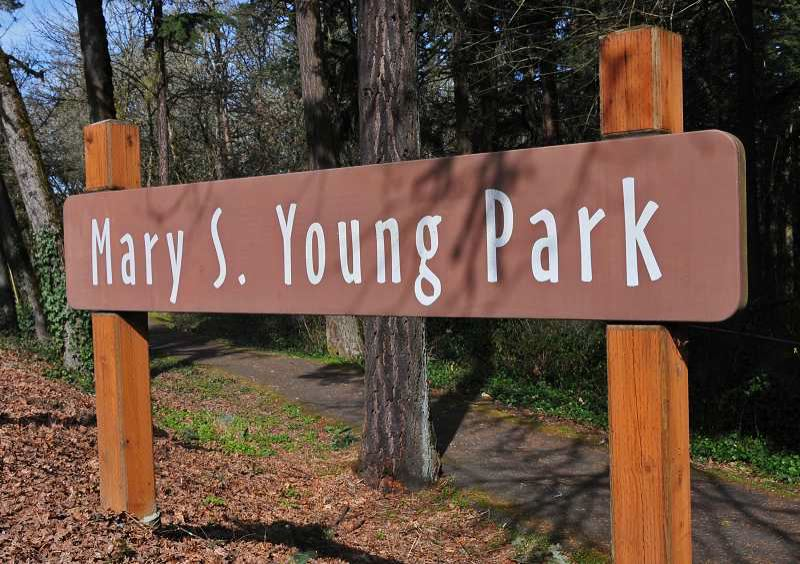 FILE PHOTO - Mary S. Young Park was removed from Clackamas County's finalized phase one reopening as a potential isolation site for unhoused COVID-19 patients.
