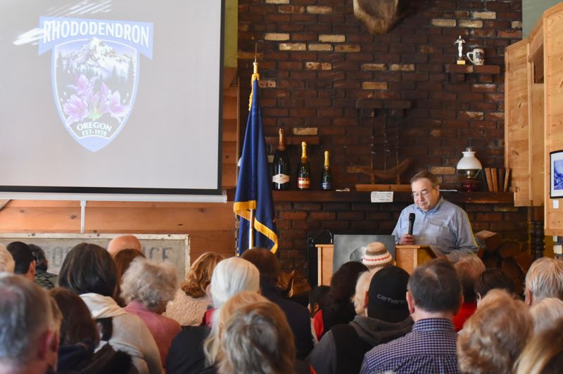 PMG FILE PHOTO - The Rhododendron Centennial Celebration was scheduled for Aug. 8.