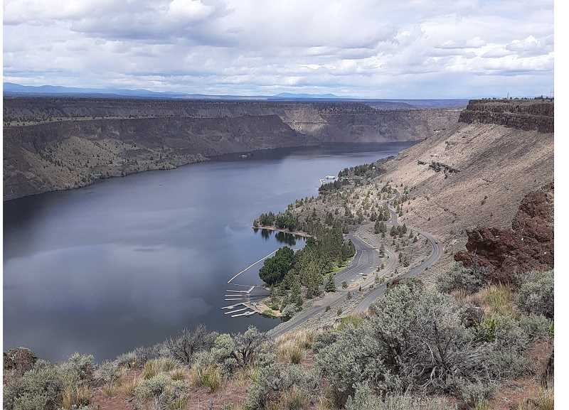 COURTESY PHOTO - A practice exercise at Lake Billy Chinook focused on invasive quagga and zebra mussels.