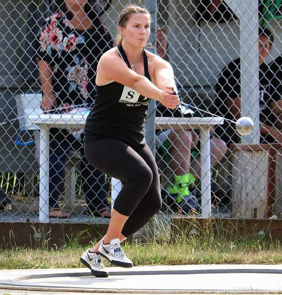 PMG FILE PHOTO - Lake Oswego High School senior Ava David, defending champion in the Three Rivers League (TRL) girls discus, and a former state champion, lost her senior season due to the outbreak.