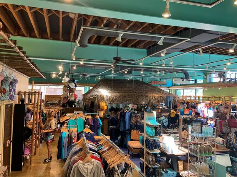 COURTESY: POPINA SWIMWEAR - Popina Swimwear's Hollywood Boutique (pictured) will reopen May 27, but the Pearl store will stayed closed for good, a victim of the coronavirus lockdown and expected weak market for beach wear.