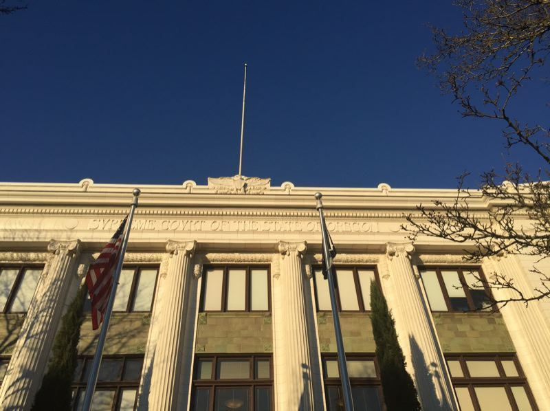 PMG FILE PHOTO - The Oregon Supreme Court building in Salem.