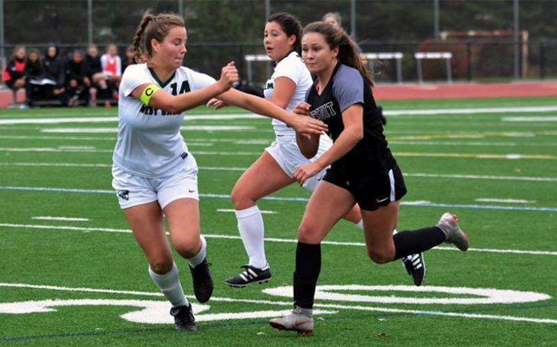 PMG FILE PHOTO - Jesuit senior forward Callan Harrington was named Prep Girls Soccer Player of the Year in the 2020 Oregon Sports Awards voting.