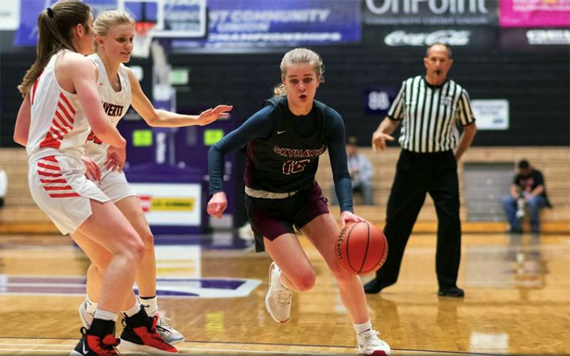 PMG FILE PHOTO - Southridge senior McKelle Meek was named Prep Girls Basketball Player of the Year in the 2020 Oregon Sports Awards voting.