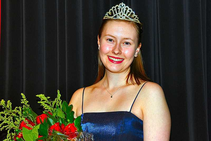 COURTESY PORTLAND ROSE FESTIVAL ASSN. - An Eastmoreland resident, and this years Rose Festival Princess for St. Marys Academy, Grace Gentner is the fourth Princess this year living in Inner Southeast.