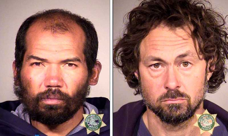MCDC BOOKING PHOTOS - At left, facing numerous felony charges, is accused bike thief 35-year-old Juan Garcia Cortes. Also arrested for felonies at the chop shop, 46-year-old Craig Stephens (right) was released by a judge without bail.