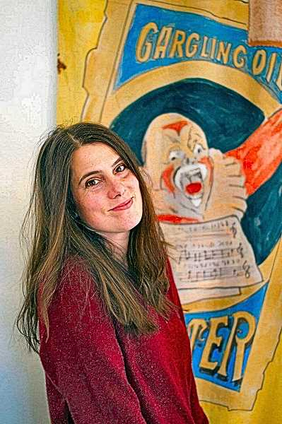 COURTESY OF FRIDERIKE HEUER - Ruth Wikler, who is fortunate still to have her job in Montreal, is networking virtually online and by phone from her Woodstock home, attempting to determine the future of Circus Arts performances.