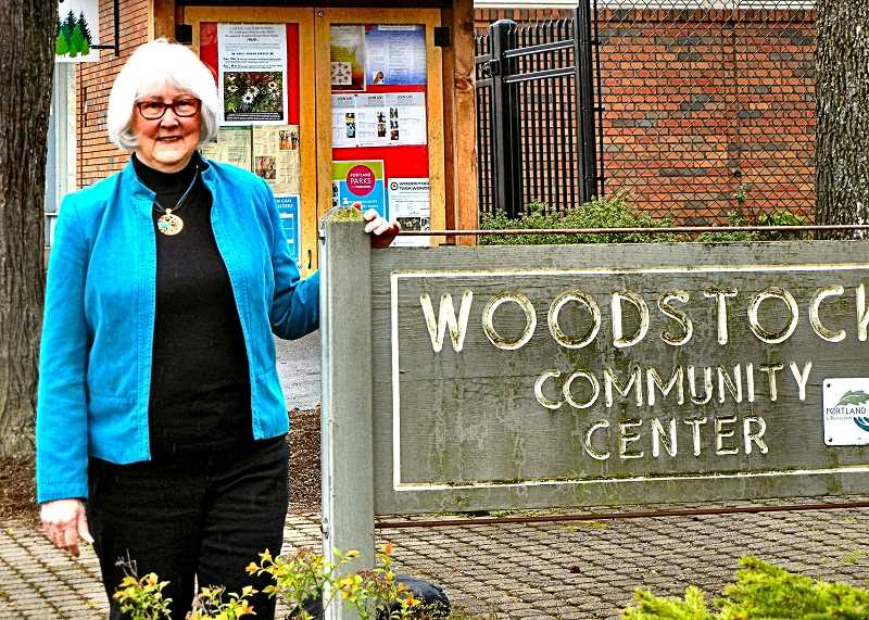 ELIZABETH USSHER GROFF - Eastmoreland resident Emily Aulicino has taught Writing Your Memoirs at the Woodstock Community Center for over a decade, with a loyal class following.