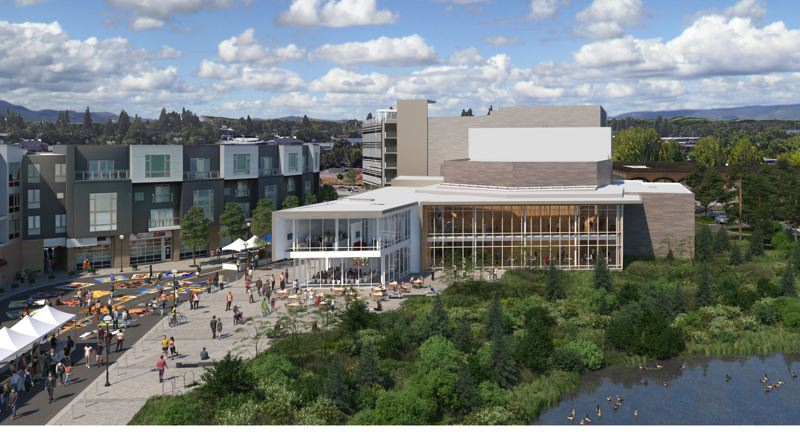 COURTESY PHOTO - The Patricia Reser Center for the Arts is a 43,000-square-foot entertainment complex that will be a welcome addition to Beaverton and the west side of the Portland area. It's set to be ready for events late in 2021.