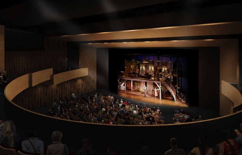 COURTESY PHOTO - Beaverton leaders have long sought a theater and arts space. The performance theater will hold 550 people.