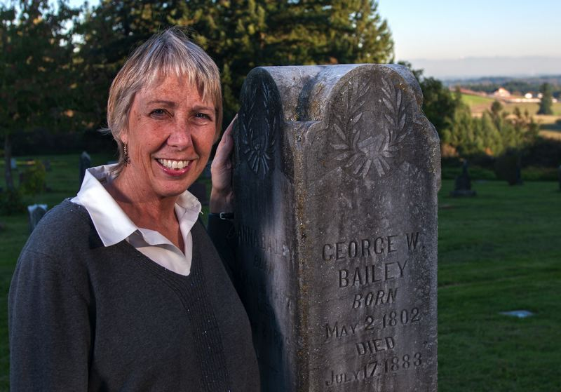 PMG FILE PHOTO - Former Wilsonville mayor and historian Charlotte Lehan is president of the Pleasant View Cemetery, where her ancestors are buried.