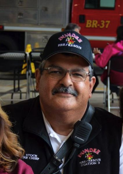CITY PHOTO - Dundee Fire Chief John Stock is on paid leave.