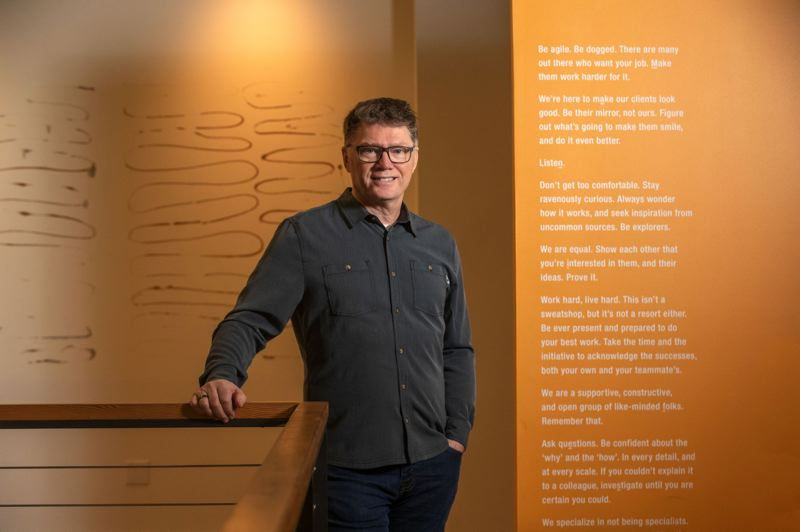 PMG FILE PHOTO - Sid Scott, founder of Scott|Edwards Architecture, says the lessons he and his team have learned from working remotely on projects are positioning his firm to be able to pursue more projects across the country in the future.