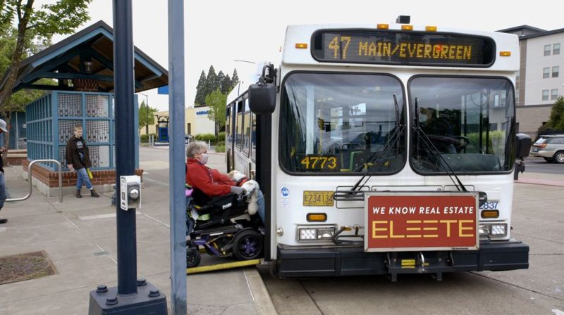 COURTESY TRIMET - Service reductions that took effect on April 15 will continue into the foreseeable future.