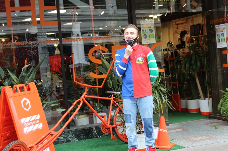 PMG: HELENA GALLIVAN - UNMASKED: Miles Miller, a manager at streetwear store Compound PDX at 625 S.W. 10th Ave, says foot traffic on the streets has been sparse. The store allows a maximum of 10 customers at a time.