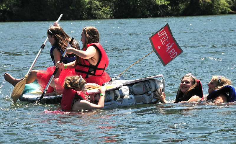 PMG FILE PHOTO - The Recycle Regatta has become a hit at the Old Time Fair over the past couple of years.