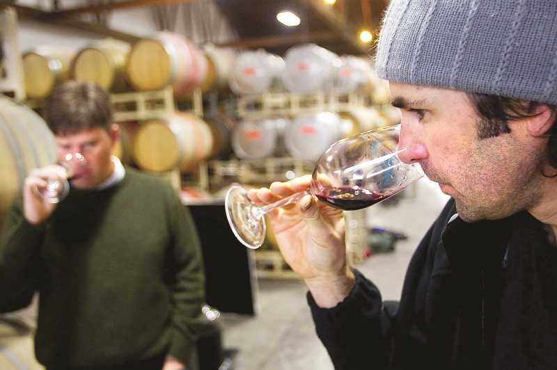 NEWBERG GRAPHIC FILE PHOTO - Wineries were given the green light in mid-May to open up their tasting rooms if they met Oregon Health Authority guidelines for social distancing, workplace safety and sanitization.