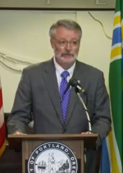 PMG SCREENSHOT - Oregon U.S. Attorney Billy Williams at the Monday morning press conference.
