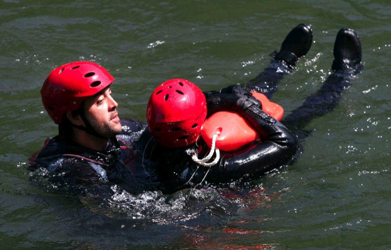 PMG FILE PHOTO - Since the program was implemented, there have been only three drownings in two decades at Glenn Otto Park and High Rocks Park.