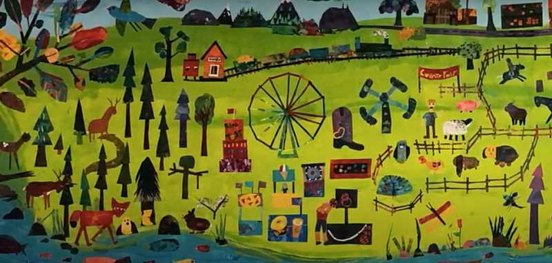 Knight students create mural of Canby