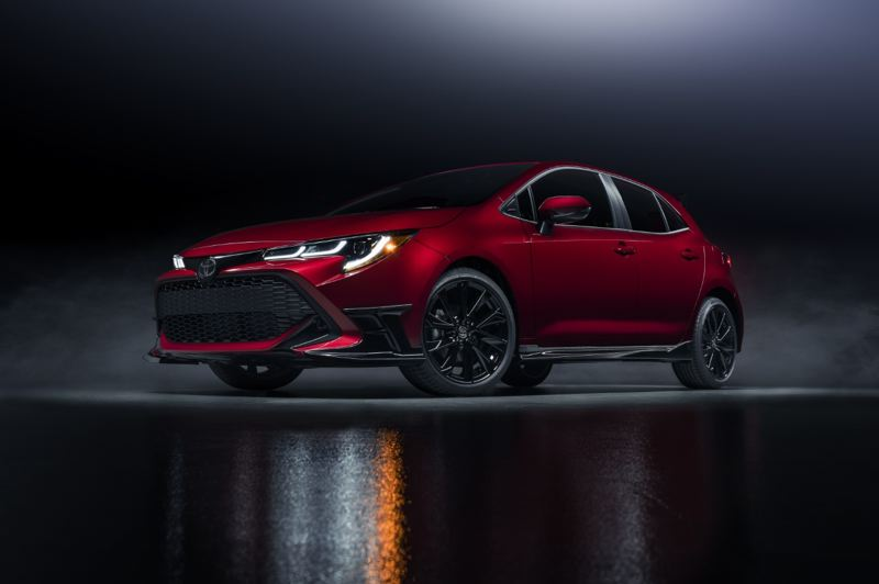 COURTESY TOYOTA - The 2021 Toyota Corolla Special Edition is striking to look at, but it has a lot of upgrades under the skin.