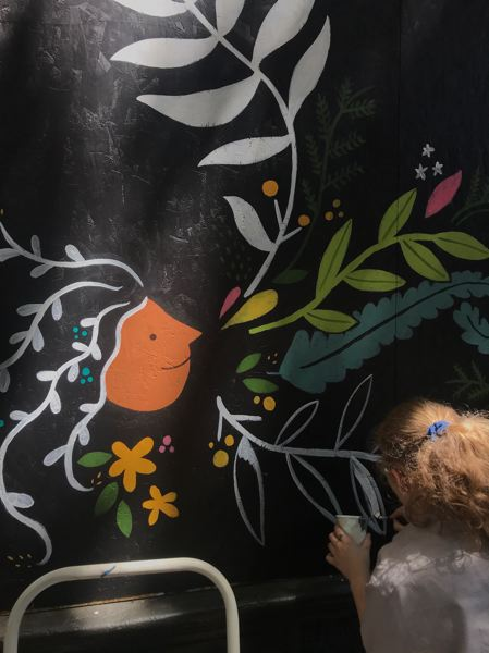COURTESY PHOTO - The Old Town Mural Project is decorating boarded-up storefronts in Old Town.
