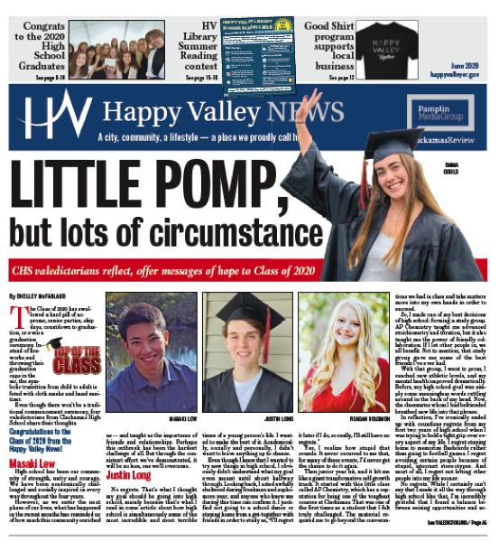 (Image is Clickable Link) Happy Valley News June