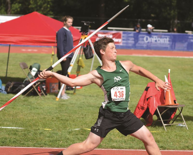 PMG FILE PHOTO:  PHIL HAWKINS - The North Marion boys track and field team was among four Huskies spring programs to place among the top 10 in the Academic All-State standings at the 4A level