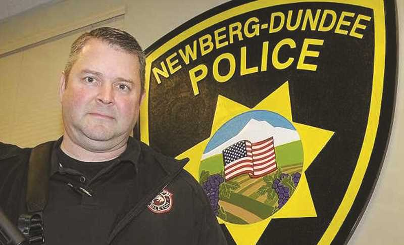 NEWBERG GRAPHIC FILE PHOTO - NDPD Interim Chief Jeff Kosmicki released a statement on May 28 condemning what he calle an 'unlawful use of force' by the Minneapolis officer responsible for the death of George Floyd.