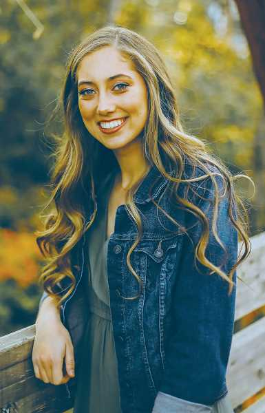 COURTESY PHOTO - Isabela Hockett is the recipient of a St. Paul Rodeo scholarship. The 2020 St. Paul High School graduate will attend Boise State University to pursue a career as a registered dietician.