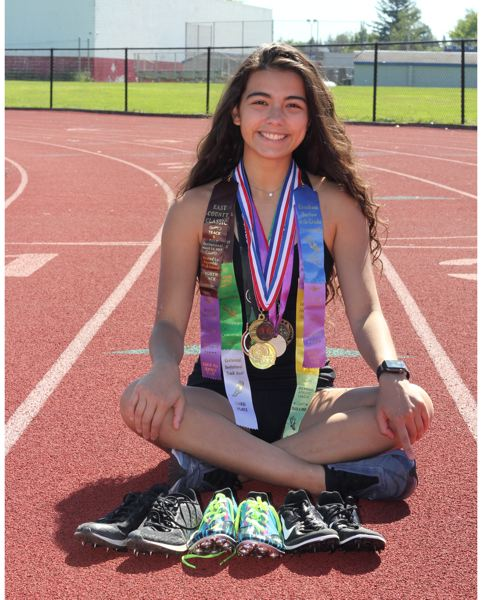 COURTESY PHOTO: TAYLOR RAMIREZ - Gresham High's Taylor Ramirez remains on a fast track for success and will study at the University of Portland.