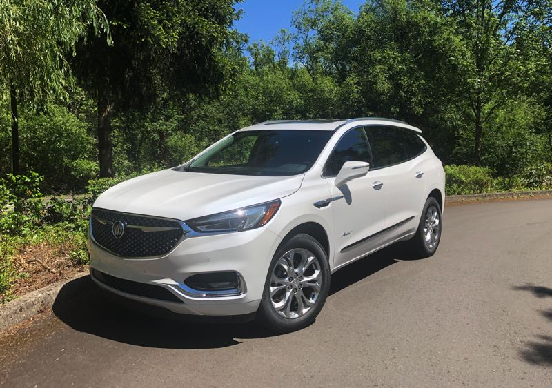 PMG PHOTO: JEFF ZURSCHMEIDE - The well-designed 2020 Buick Enclave Avenir can seat up to seven passengers in comfort and tow up to 5,000, properly equipped.