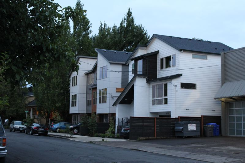 PMG PHOTO: COURTNEY VAUGHN - Amendments to Portland's Residential Infill Project will go before Portland City Council for a vote on June 18. The project will increase density in single-dwelling zones, and could create a bigger incentive for the development of affordable housing.