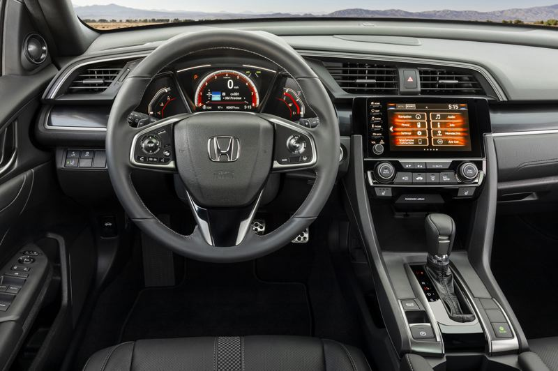 AMERICAN HONDA MOTOR CO. - The interior feels more like a sports car than a a practical family hauler.