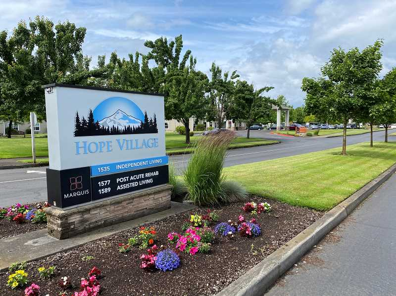 PMG PHOTO: KRISTEN WOHLERS - As of Sunday, June 7, there are 34 cases of COVID-19 at Hope Village Post-Acute Rehab in Canby.