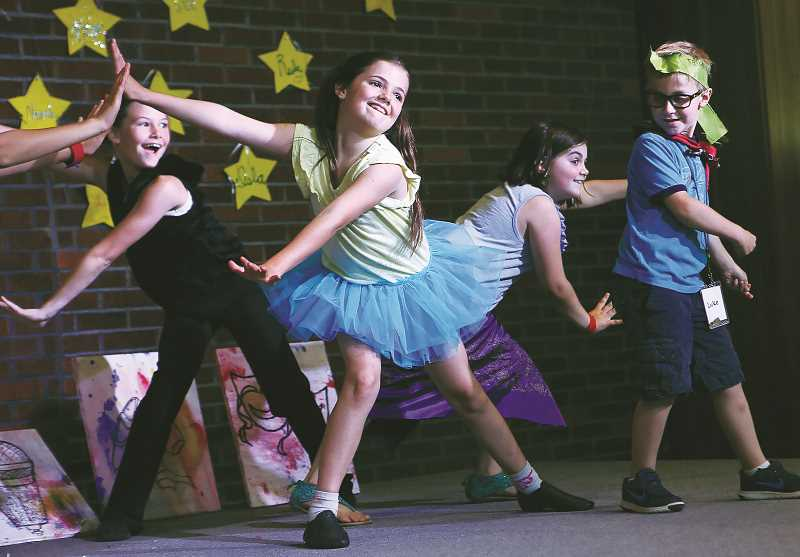 PHOTO COURTESY OF CCC - This year's Art Camp at the Chehalem Cultural Center will classes on performance as well as the more tradtional arts.