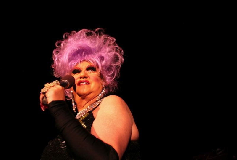 PMG FILE PHOTO - Female impersonator Walter Cole has performed as Darcelle for more than 50 years. His Old Town cabaret, Darcelle XV, could be named to the National Register of Historic Places.