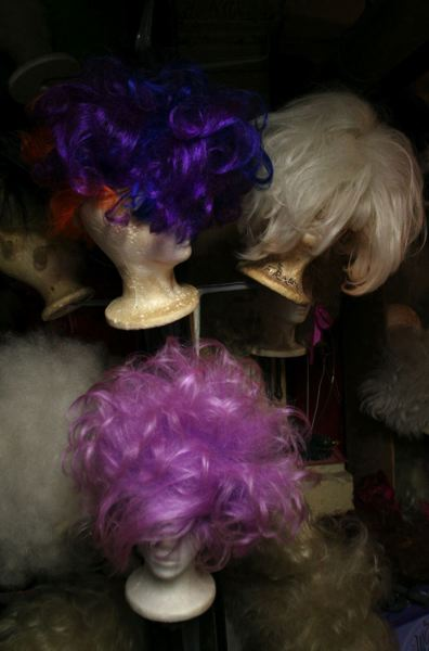 PMG FILE PHOTO - Wigs and other costumes for Darcelle XV shows are stored in the clubs basement. The Northwest Third Avenue building has been remodeled several times since 1967, when Cole opened his club in a tiny tavern space.