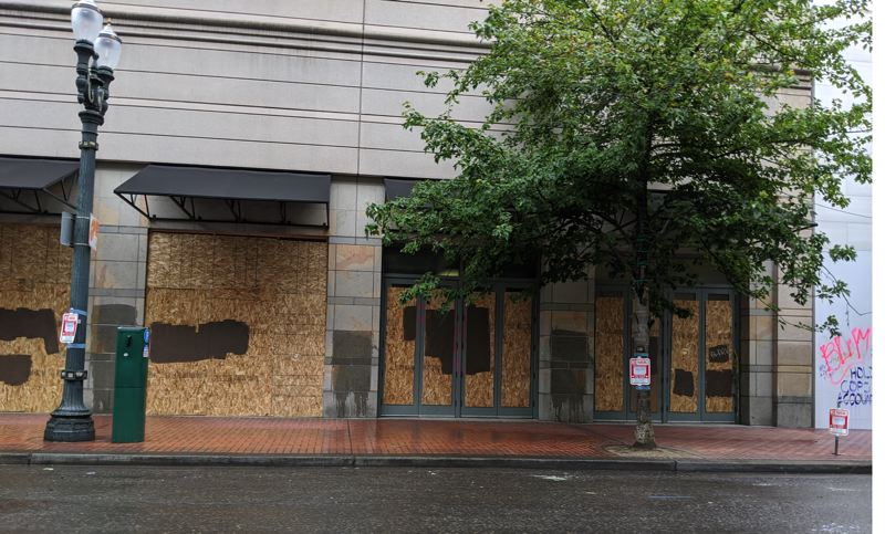 PAMPLIN MEDIA GROUP: JOSEPH GALLIVAN  - Pioneer Place Mall was severely damaged in recent riots in downtown Portland, on top of the decline in brick and mortar retail compared to ecommerce, which was accelerated by the coronavirus pandemic.