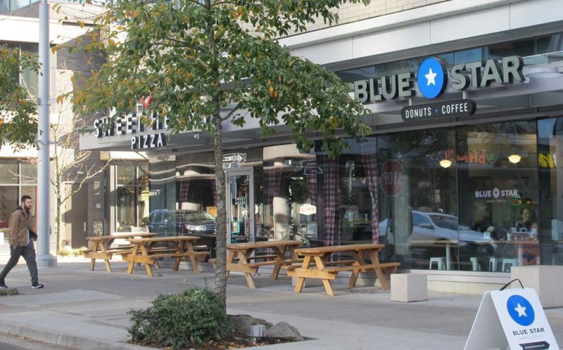 PMG: SOUTHWEST CONNECTION - Blue Star Donuts is closing four Portland area stores including this one in Multnomah Village.
