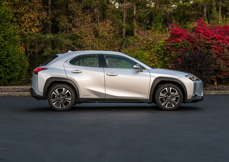 TOYOTA MOTOR SALES USA - The 2020 Lexus UX 250f F Sport comes standard with all-wheel-drive and a handling package that increases the driving enjoyment.