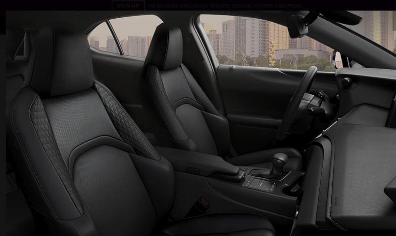TOYOTA MOTOR SALES USA - The front bucket sport seats are both supportive and comfortable enough for long trips.