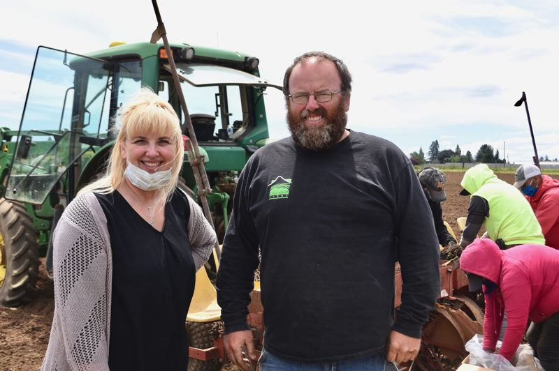 PMG PHOTO: BRITTANY ALLEN - Michelle Liepold Krummenacker and Jeff Liepold were set to take over the family business, but parents Rod and Marcia delayed retirement because of the pandemic.