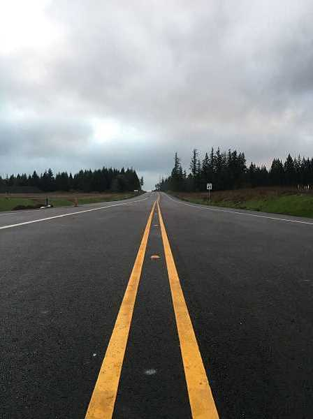 COURTESY PHOTO: WASHINGTON COUNTY LAND USE & TRANSPORTATION - Officially opened in January 2018 (shown in this file photo), the west side of the 124th Avenue extension contains land in Sherwoods Tonquin Employment Area.